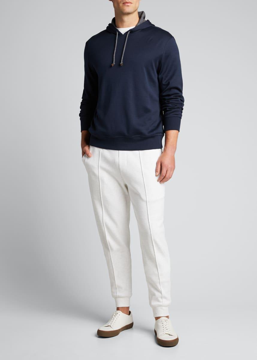 Brunello Cucinelli Men's Pullover Hoodie Sweatshirt
