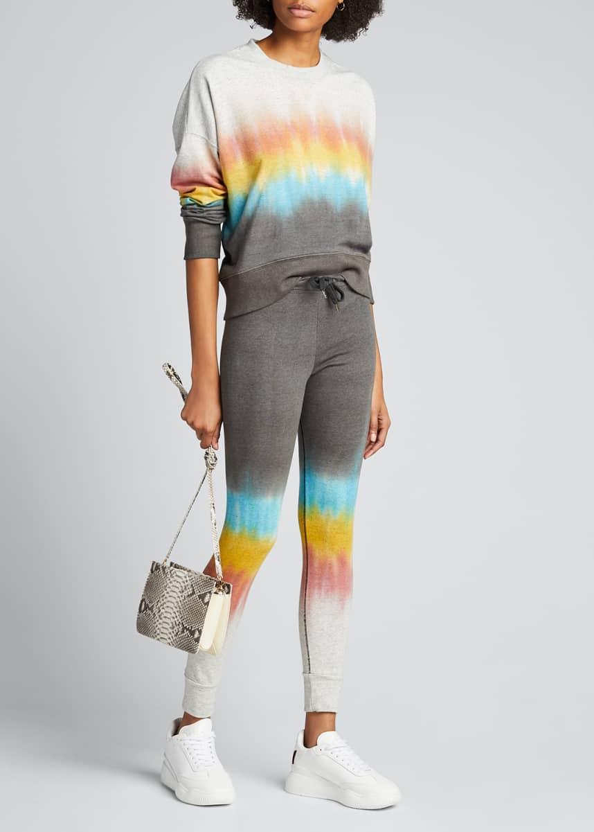 Sundry Gradient Tie-Dye Crewneck Sweatshirt