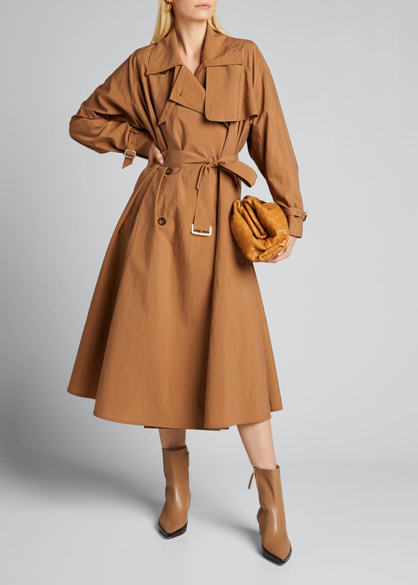 Maxmara Falster Hammered Trench Coat