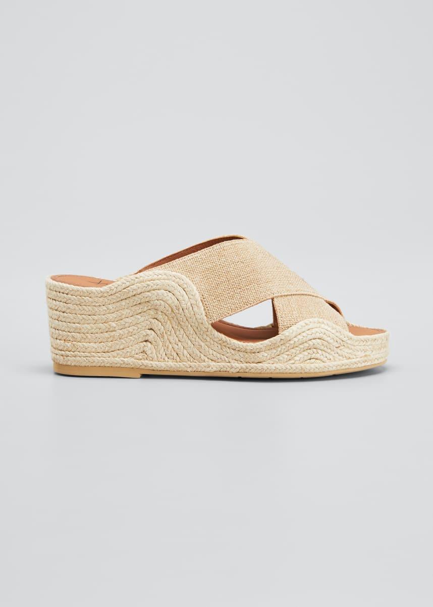 Aquatalia Marina Crisscross Espadrille Sandals