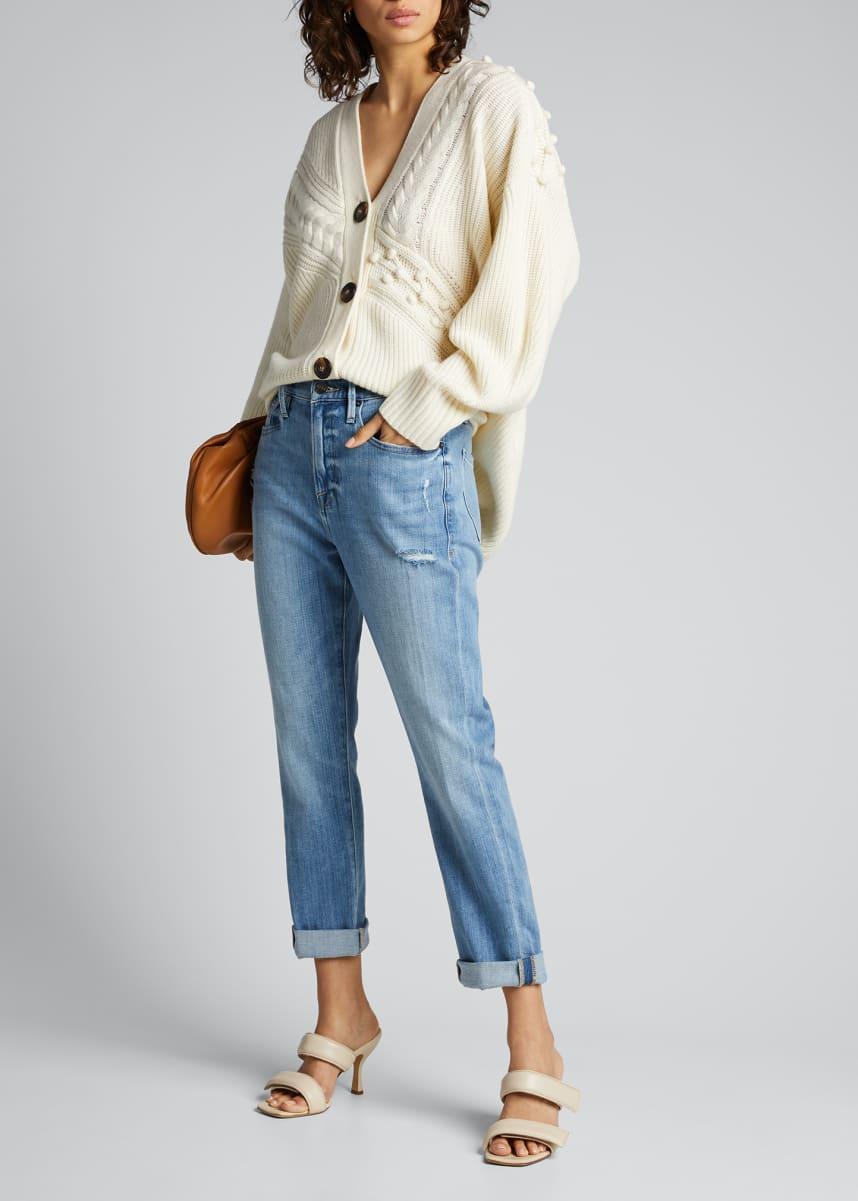 FRAME Le Beau High-Rise Jeans