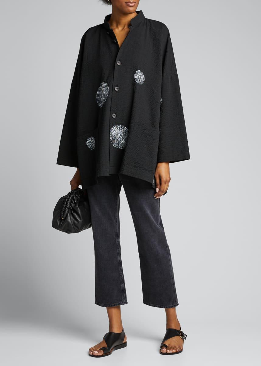 Eskandar Cotton Mandarin Jacket