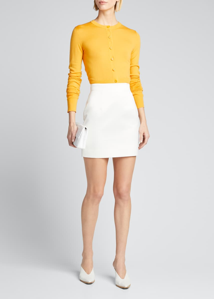 Materiel Mini Skirt