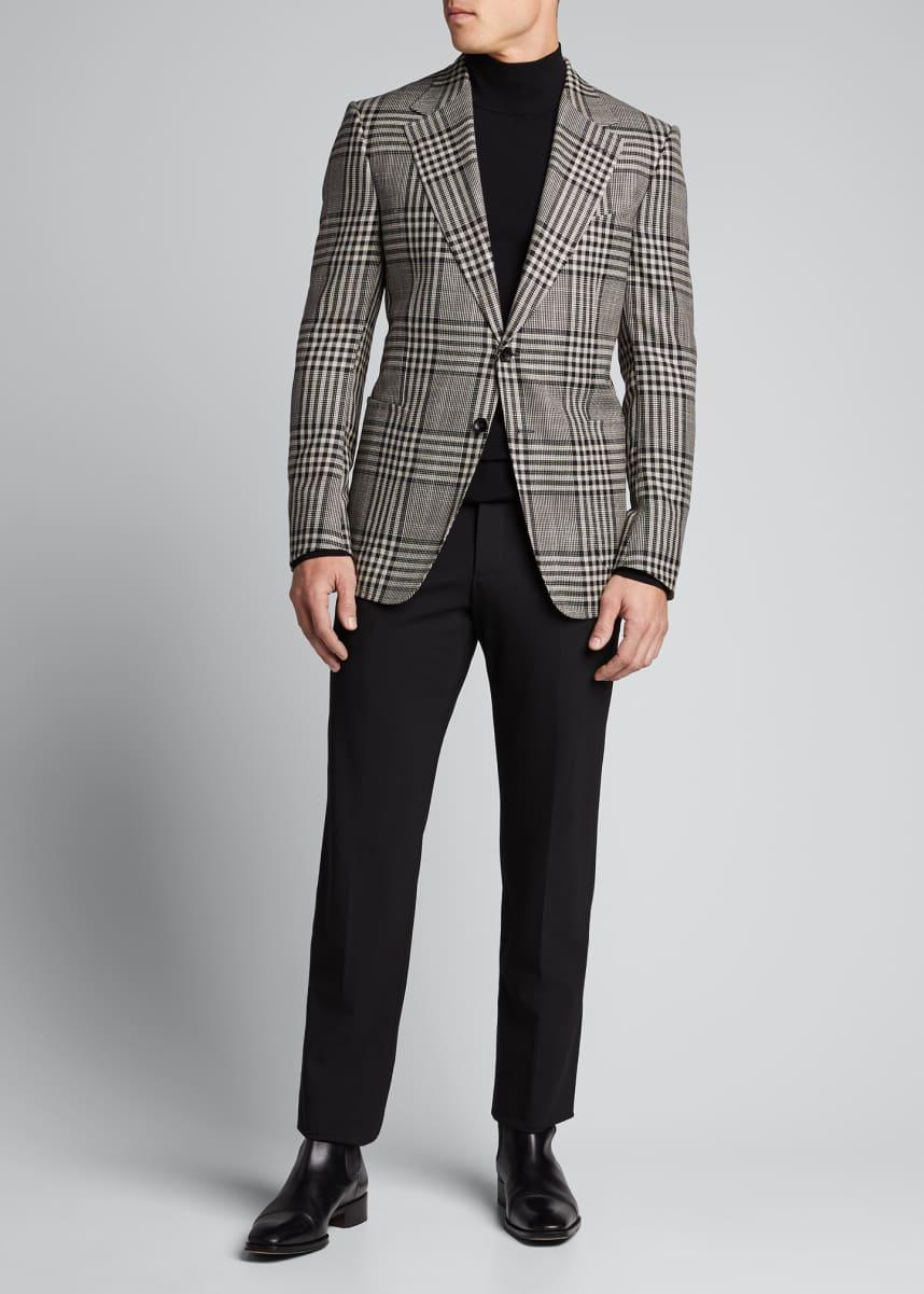 TOM FORD Men's Shelton Check Two-Button Jacket