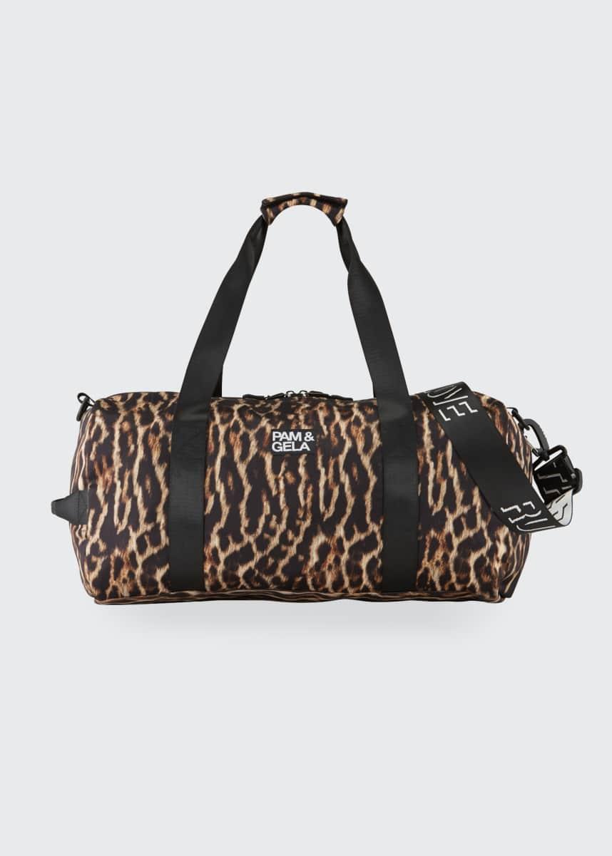Pam & Gela Natural Ocelot Duffel Bag