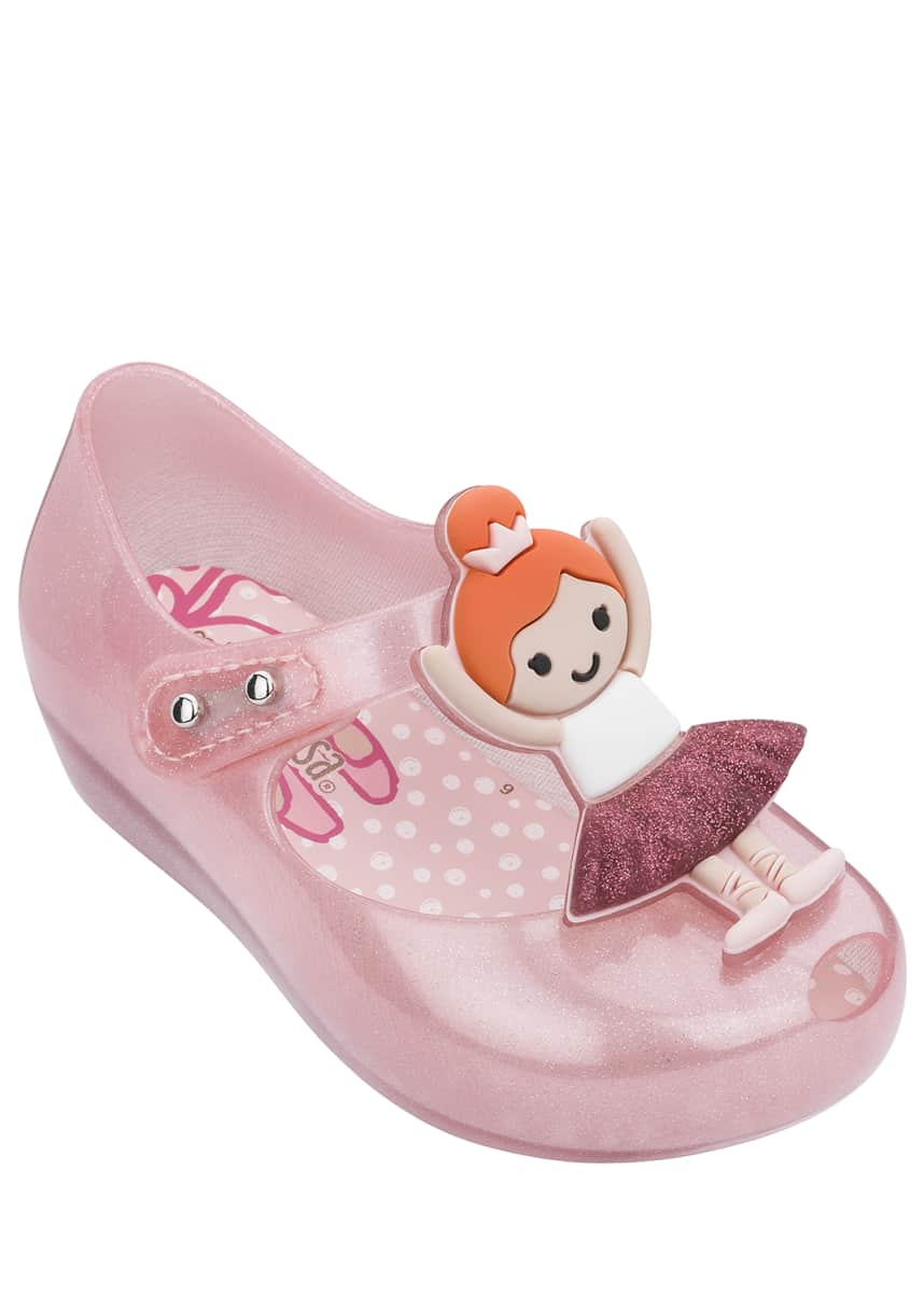 Mini Melissa Ultragirl Ballerina Mary Jane Flats, Baby/Toddler