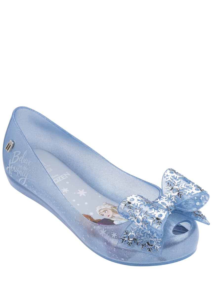 Mini Melissa Ultragirl Frozen 2 Ballet Flats, Toddler/Kids