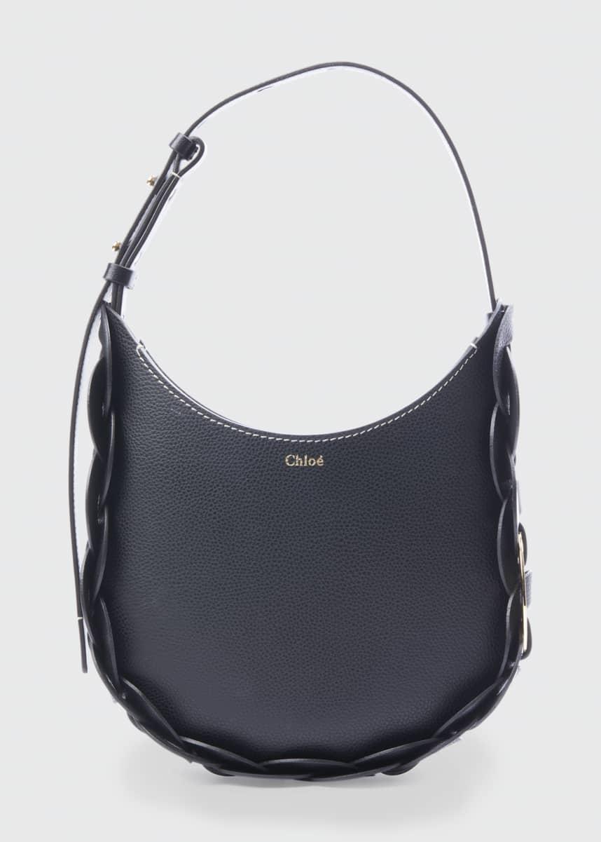 Chloe Darryl Small Leather Hobo Bag