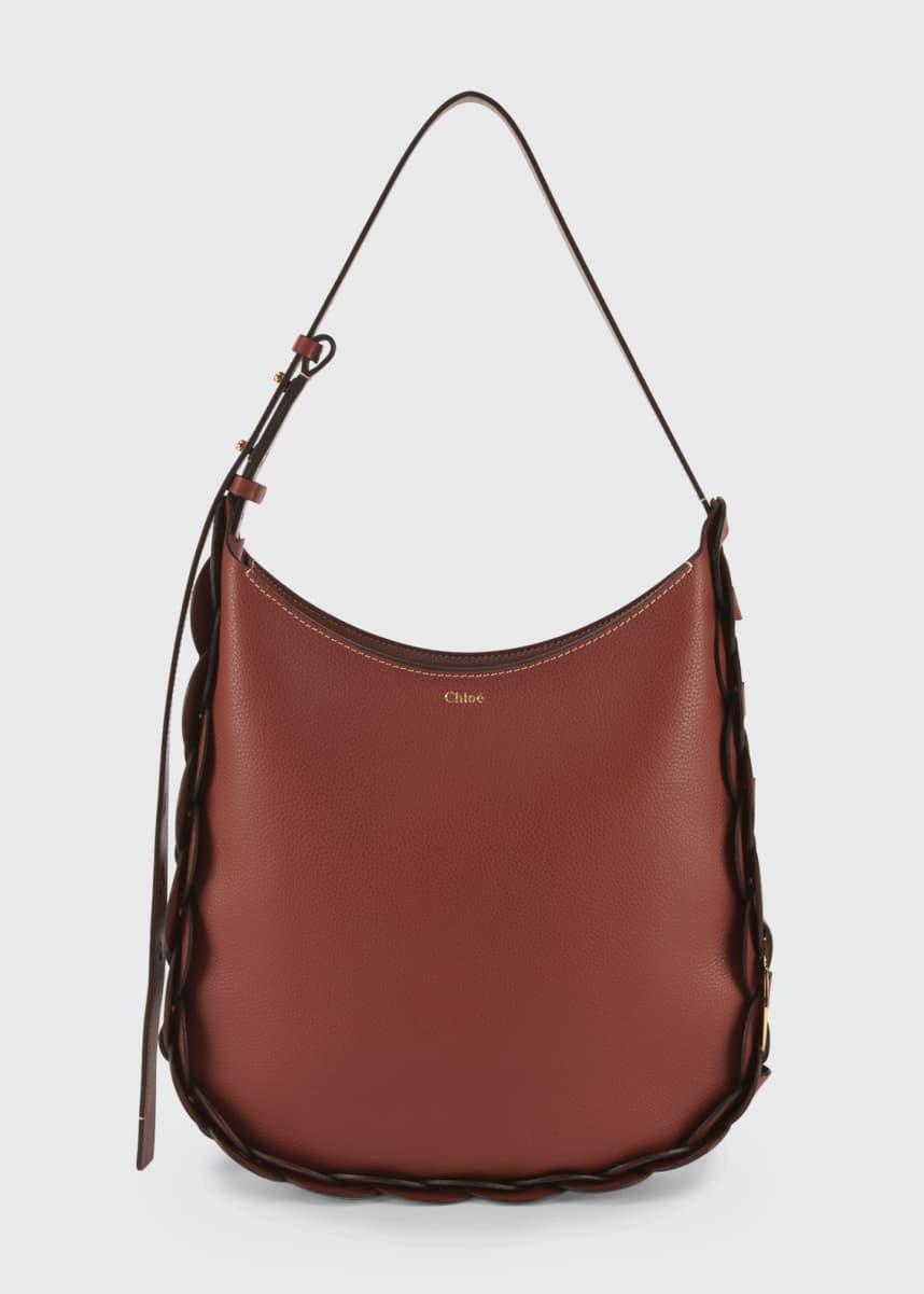 Chloe Darryl Medium Leather Hobo Bag