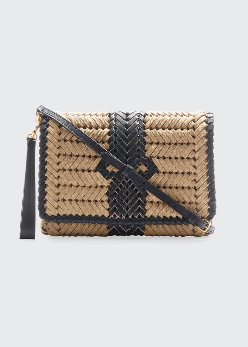 Anya Hindmarch The Neeson Woven Rope Crossbody Bag