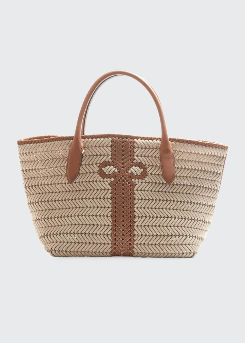 Anya Hindmarch The Neeson Woven Rope Tote Bag