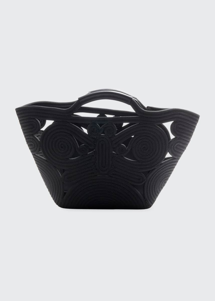 Anya Hindmarch Butterfly Woven Rope Tote Bag