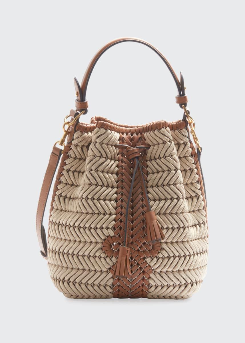 Anya Hindmarch The Neeson Small Rope Drawstring Bucket Bag
