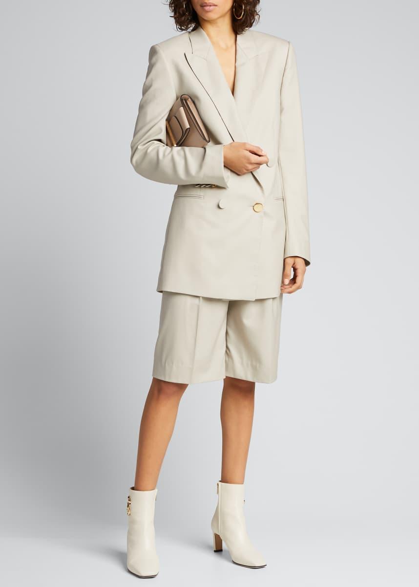 PETAR PETROV Hew Wool Bermuda Shorts