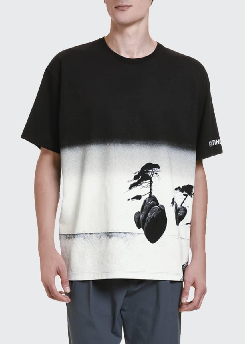Valentino Men's Floating Island Graphic T-Shirt