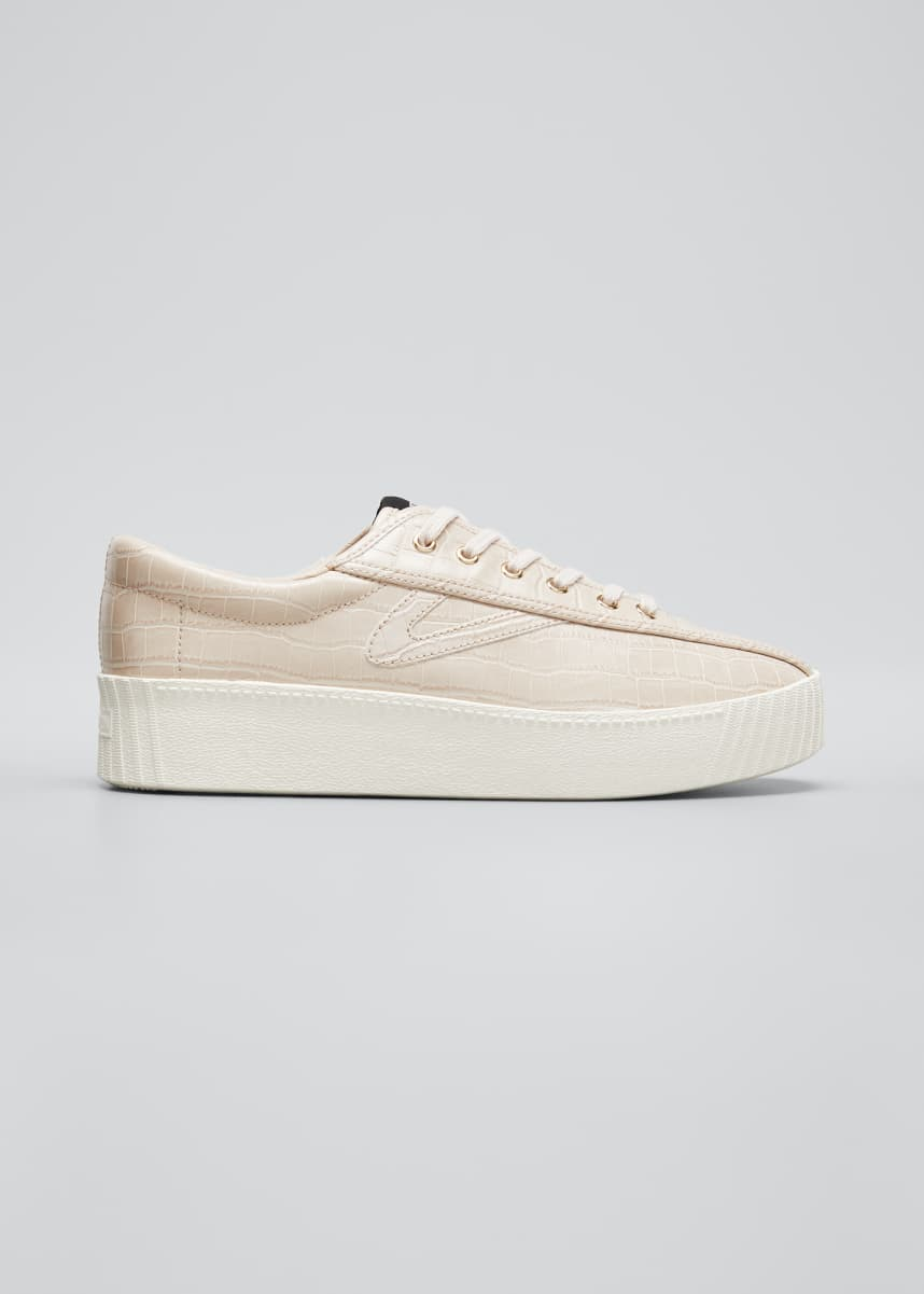 Tretorn NY Lite Mock-Croc Sneakers
