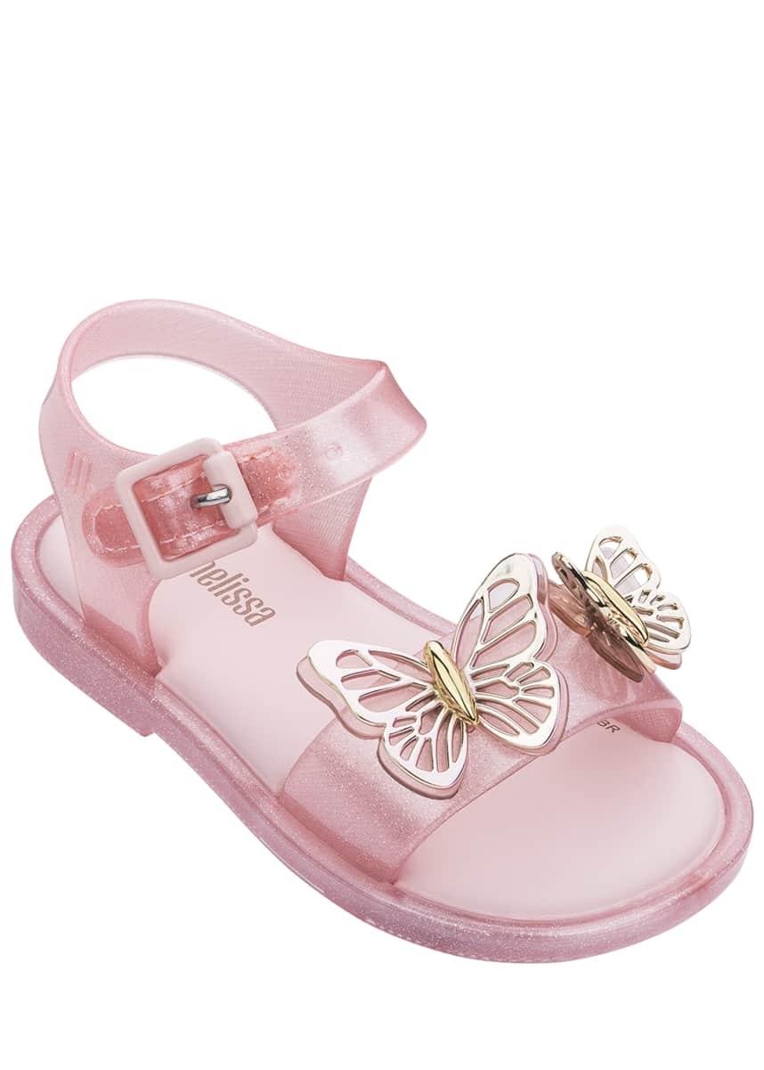 Mini Melissa Mar Butterflies Sandals, Baby/Toddler