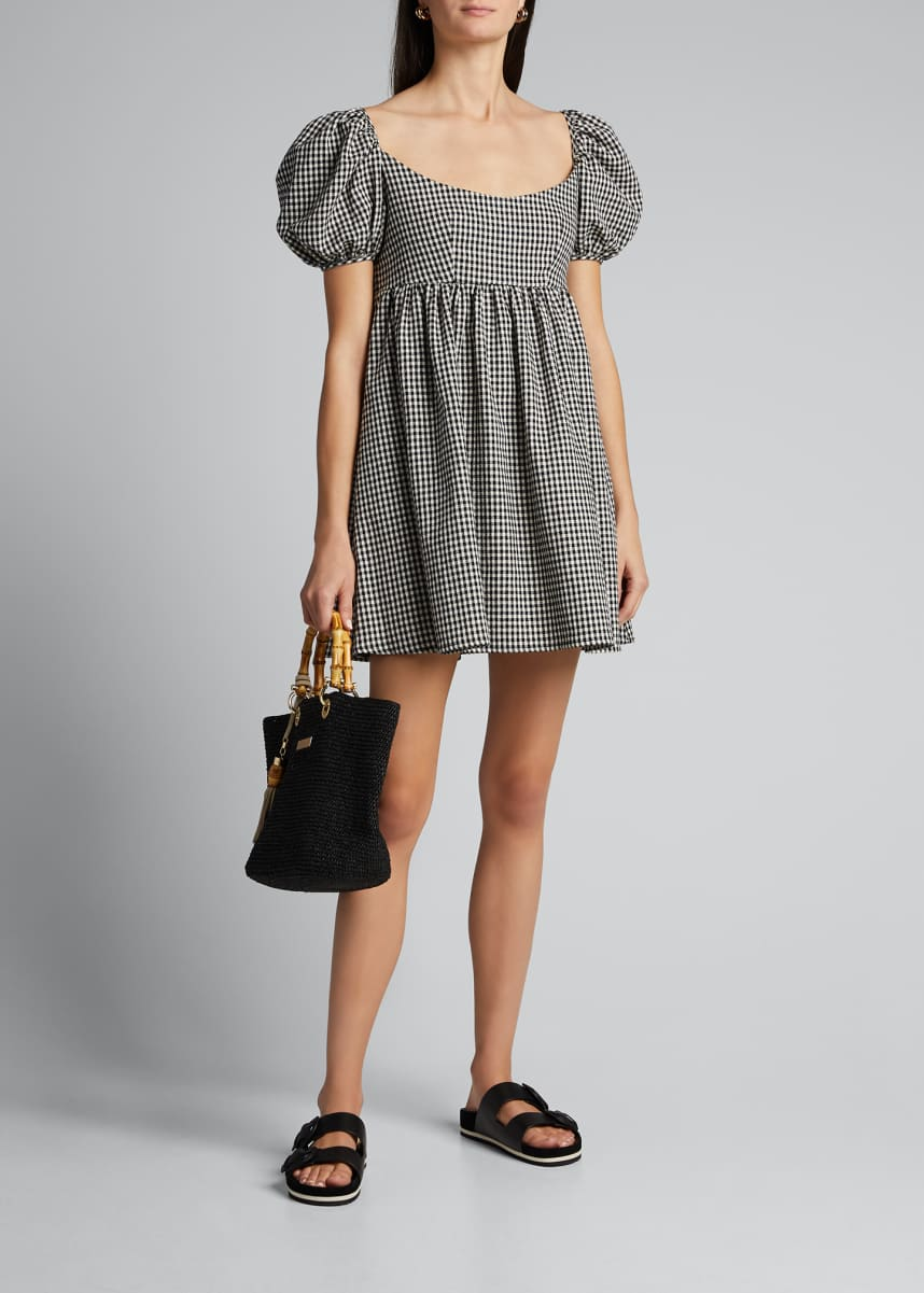 Ciao Lucia Delfina Gingham Dress