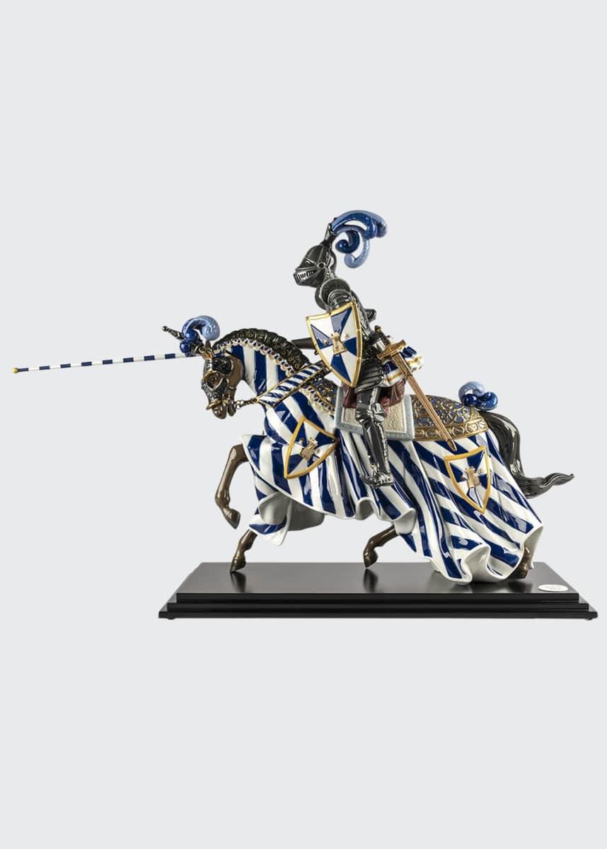 Lladro Medieval Knight Figurine
