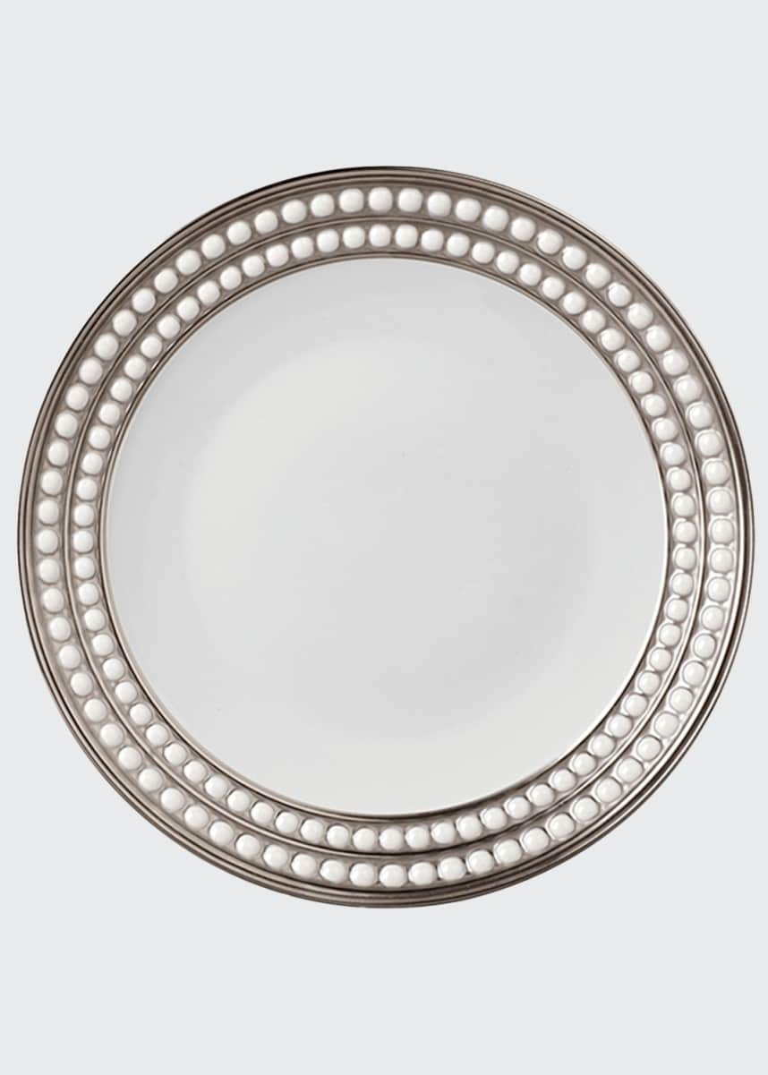 L'Objet Perlee Platinum Salad Plate