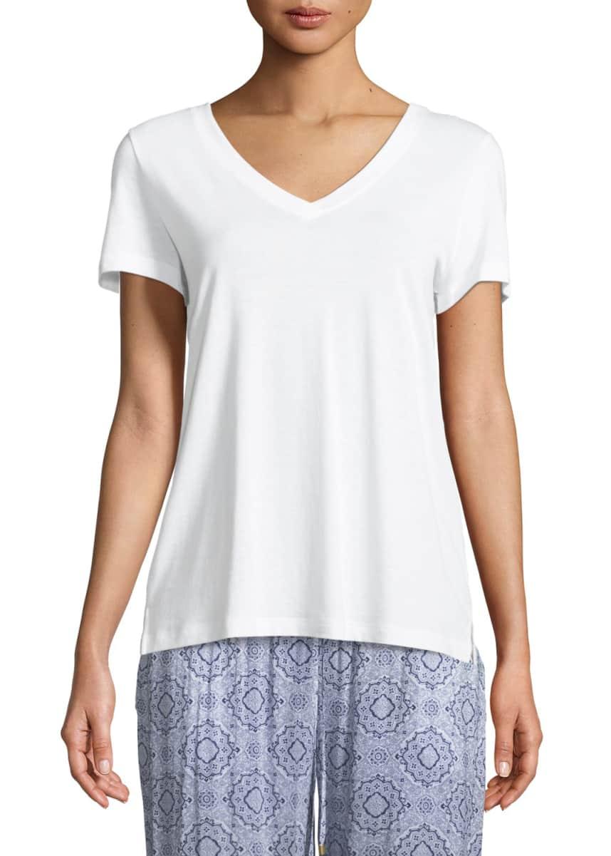 Hanro Sleep & Lounge Short-Sleeve Shirt