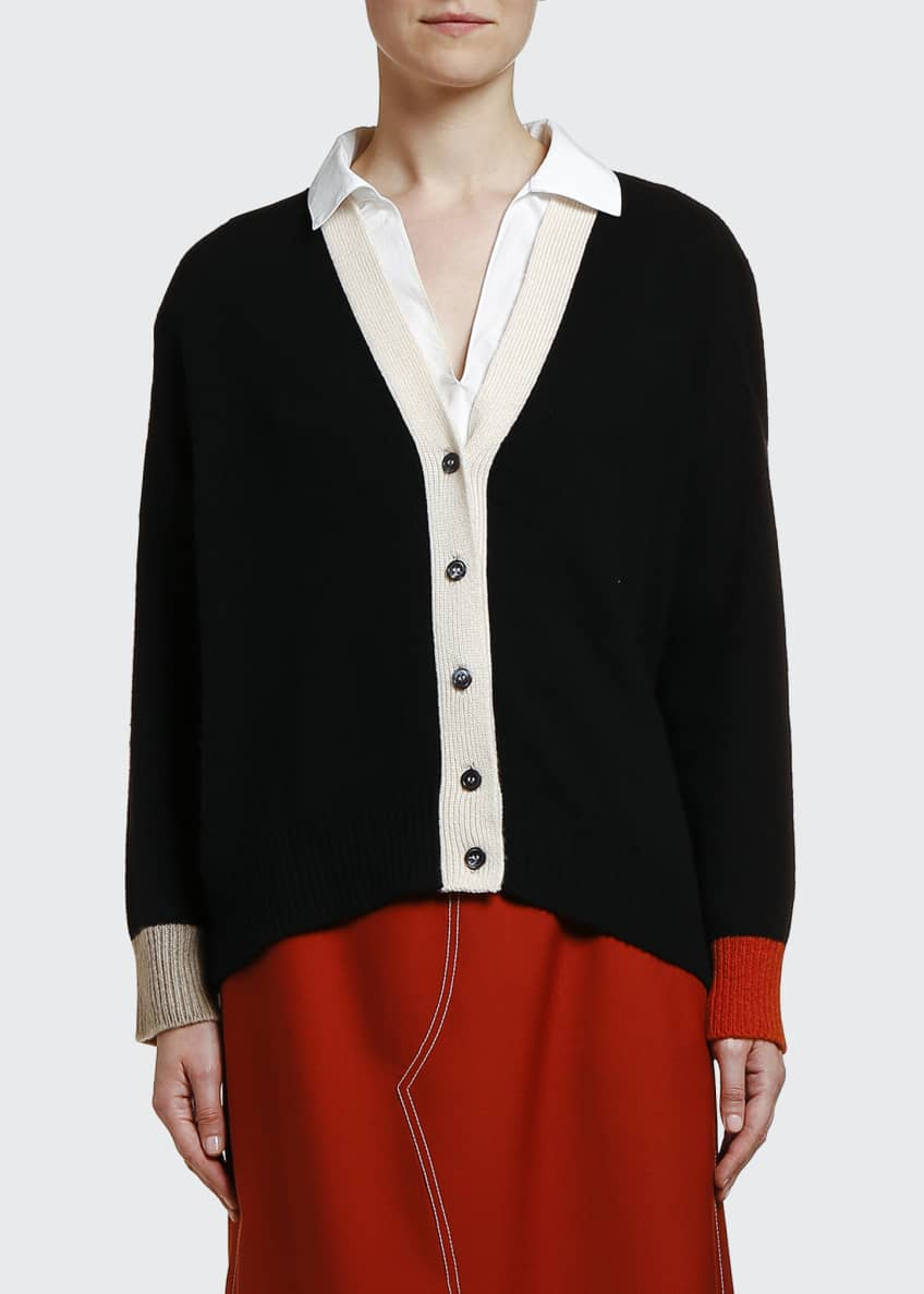 Marni Cashmere Bicolor Cardigan & Matching Items