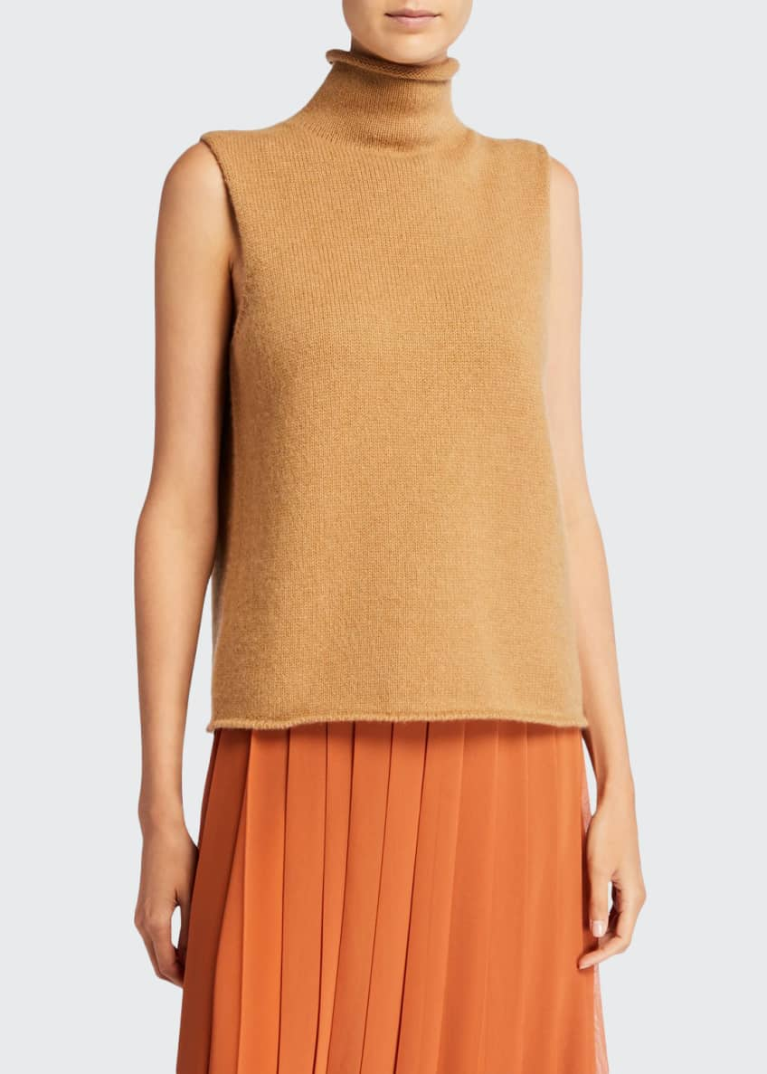 THE ROW Beriko Cashmere Sleeveless Sweater & Matching