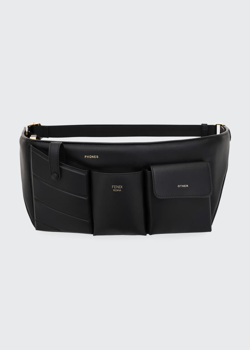 Fendi Leather Pouch Belt Bag