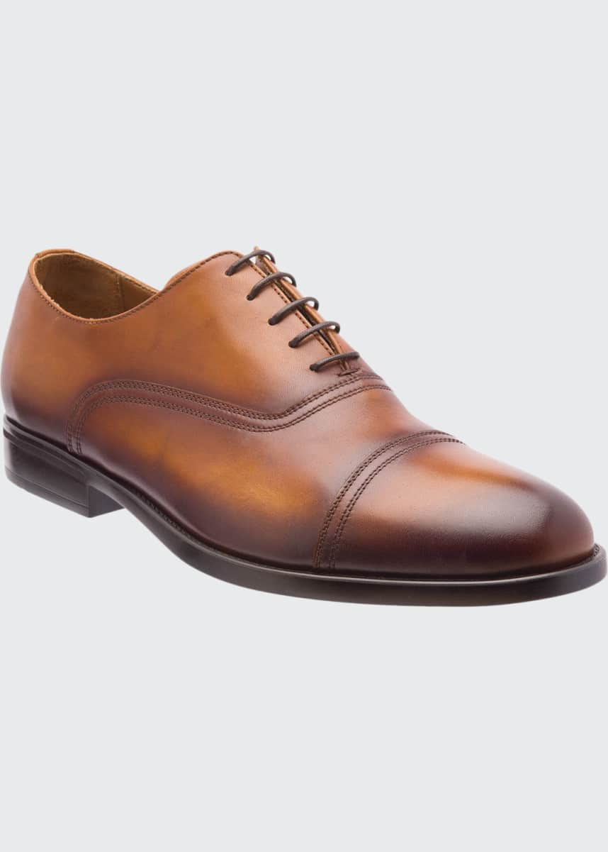 Bruno Magli Men's Butler Burnished Leather Oxford Shoes