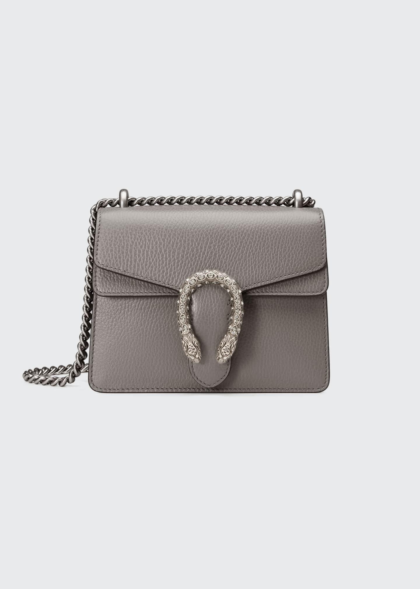 Gucci Dionysus Leather Crystal Mini Bag
