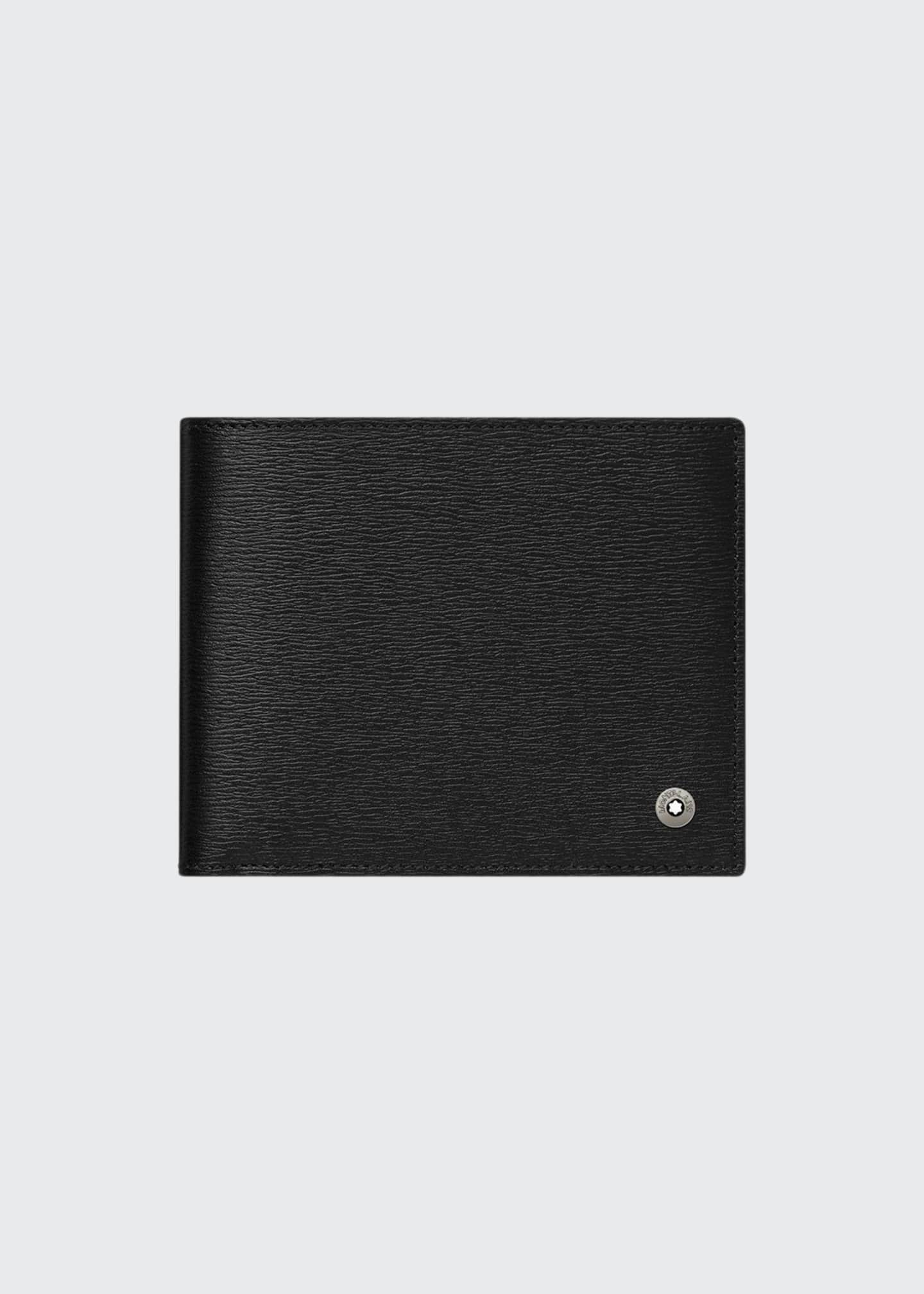 Image 1 of 2: 4810 Westside Leather Bifold Wallet, Black