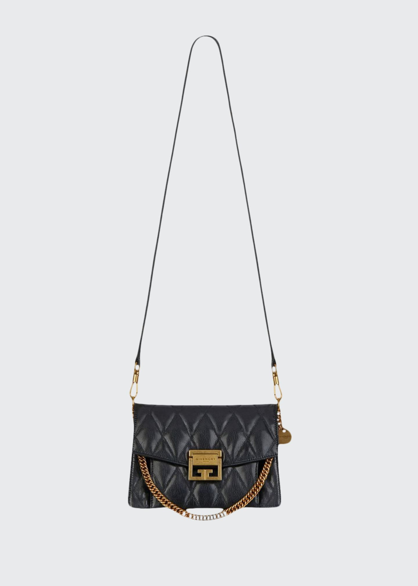 Givenchy GV3 Small Quilted Crossbody Bag