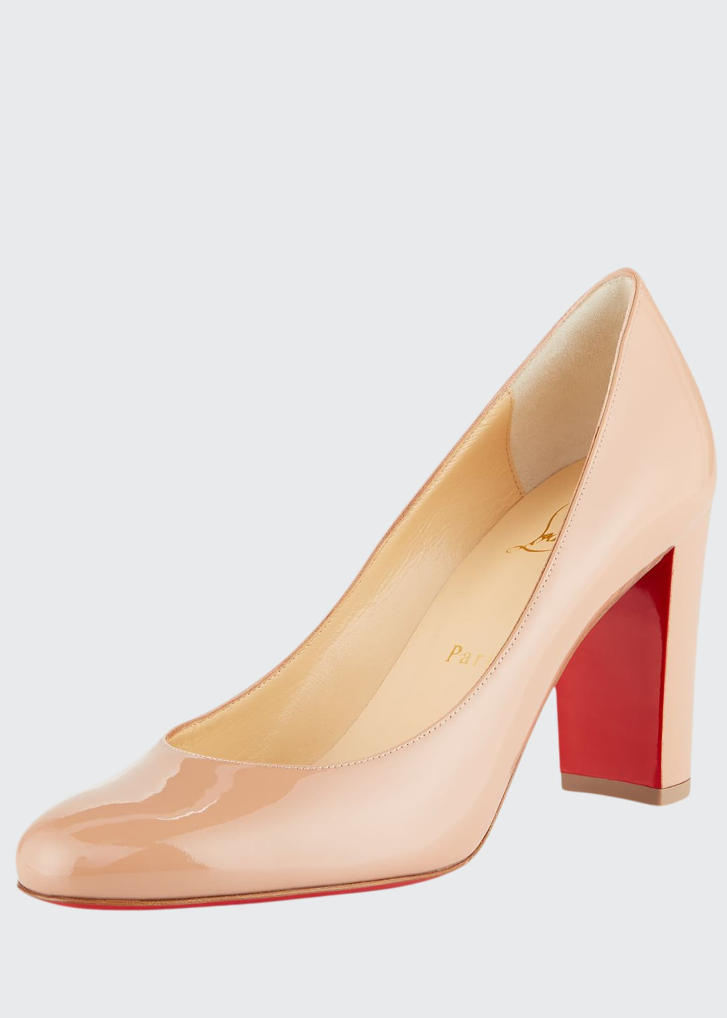 super cheap new lifestyle lowest price Christian Louboutin Lady Gena Patent Red Sole Pumps - Bergdorf Goodman