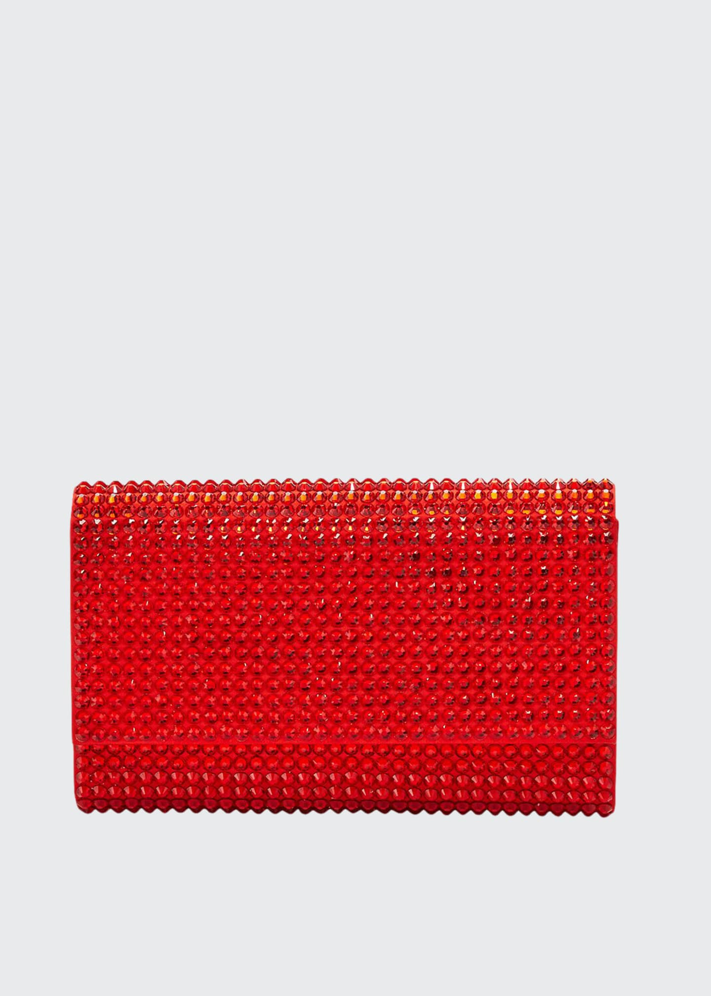 Judith Leiber Couture Fizzoni Bling Clutch Bag with