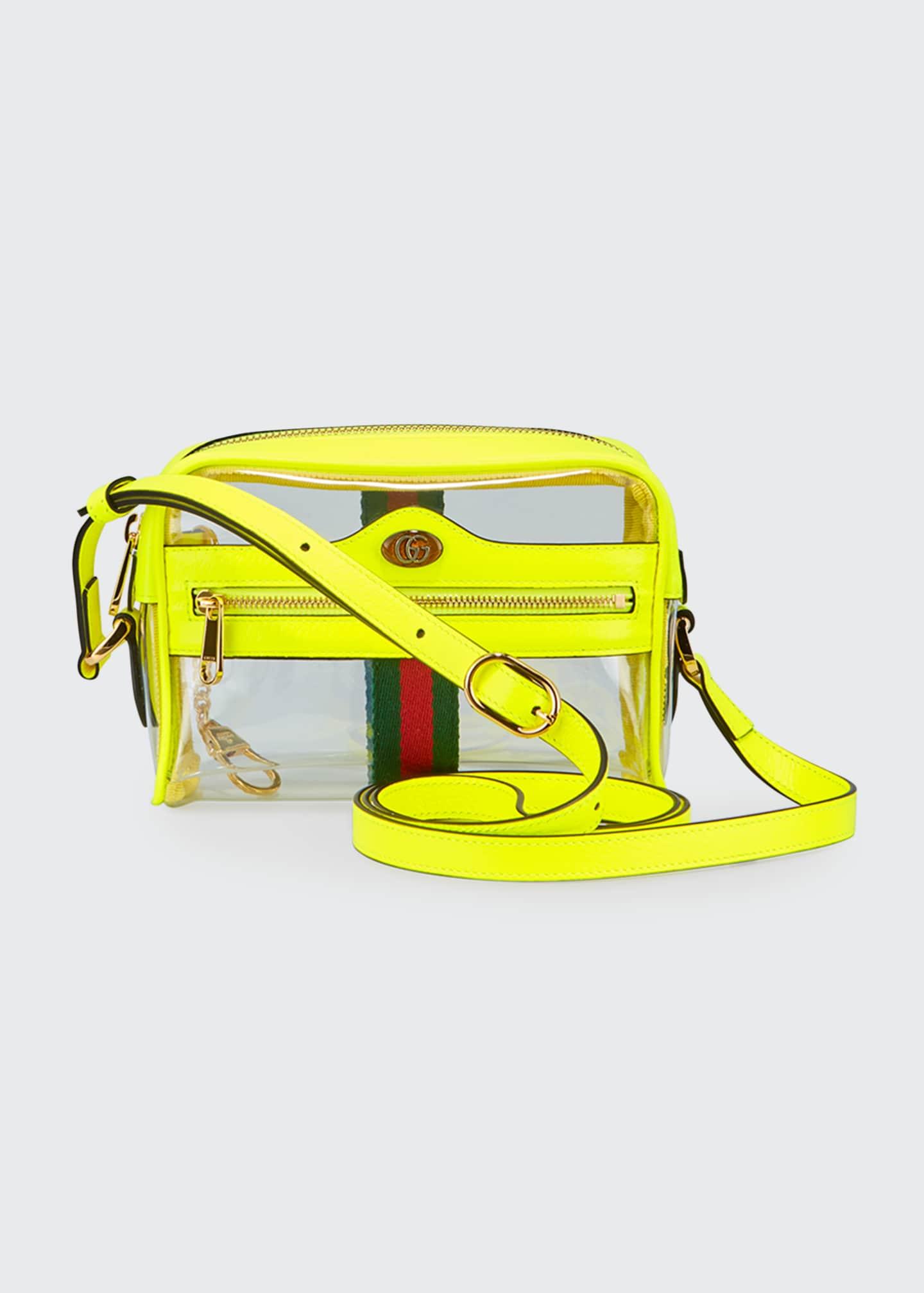 Gucci Ophidia Mini See-Through Vinyl Crossbody Bag