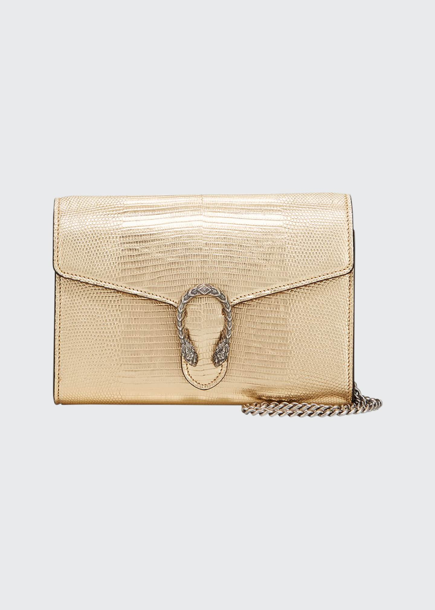 Image 1 of 4: Dionysus Metallic Chain Crossbody Bag