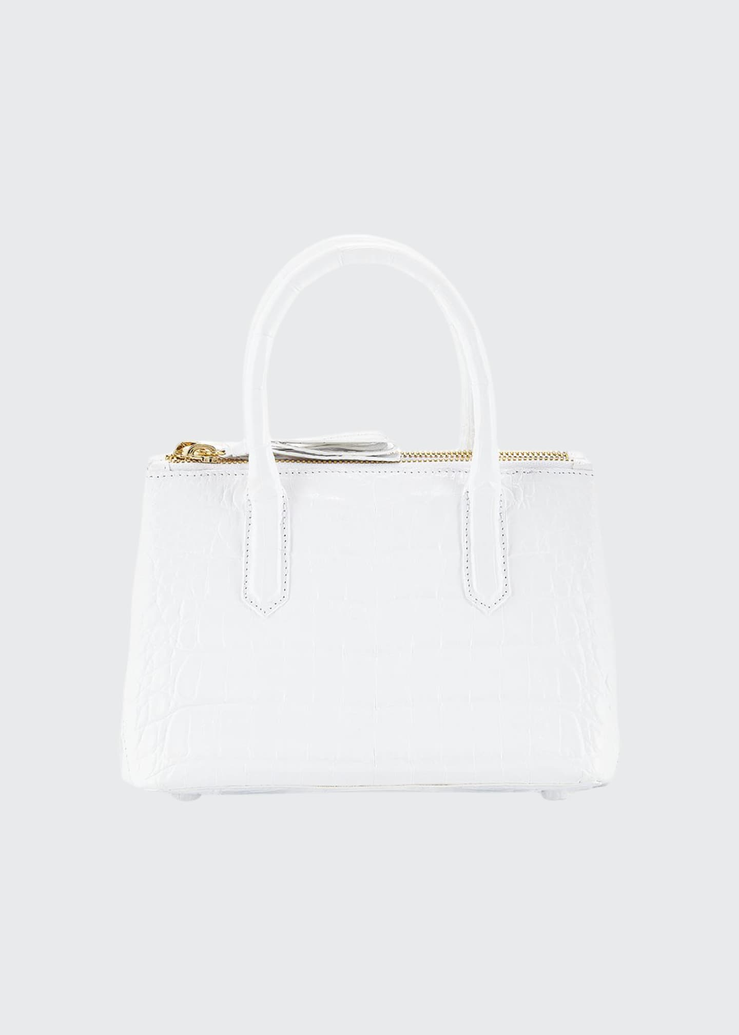 Nancy Gonzalez Nyx Mini Crocodile Tote Bag