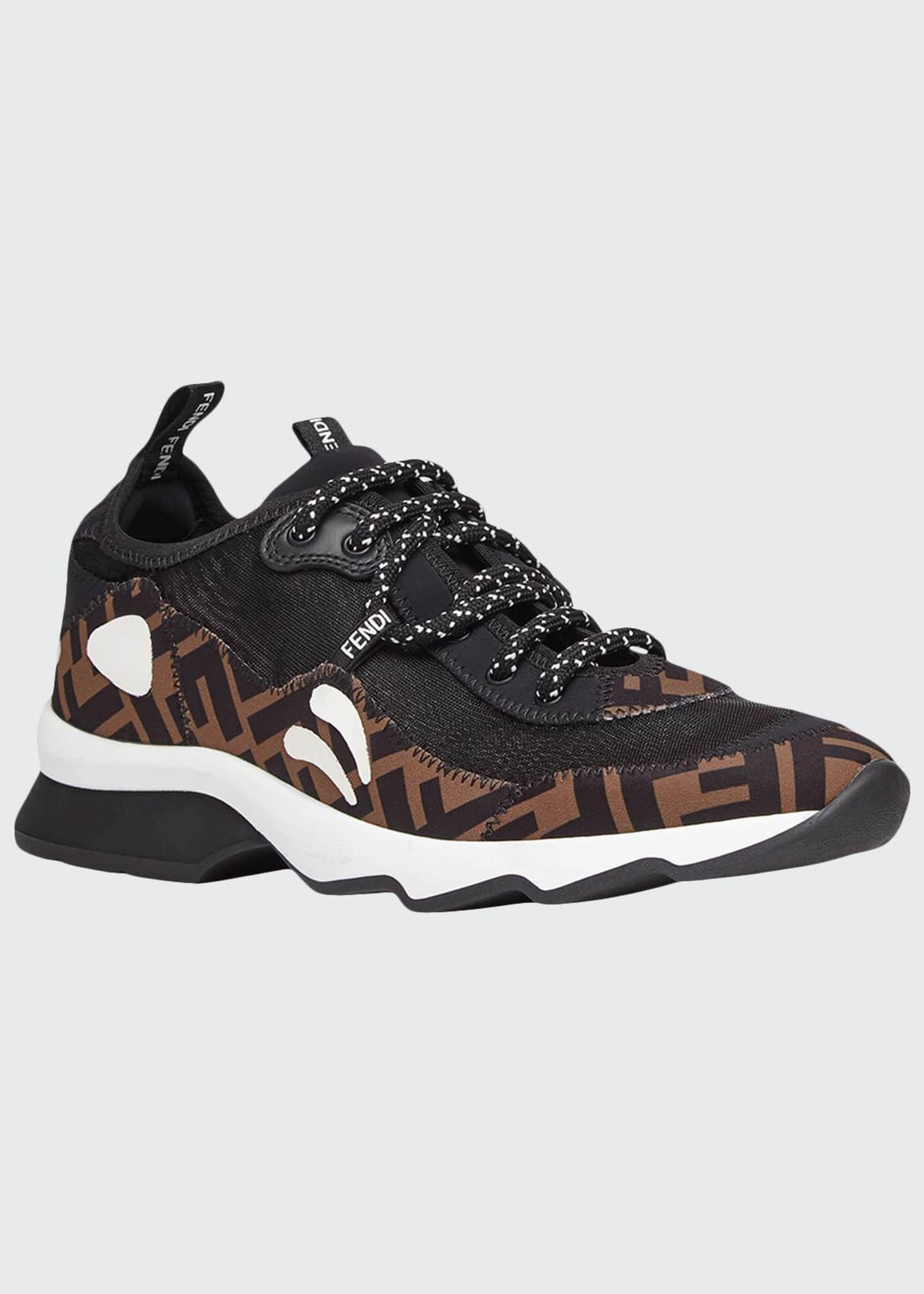 Fendi Freedom FF Patchwork Sneakers