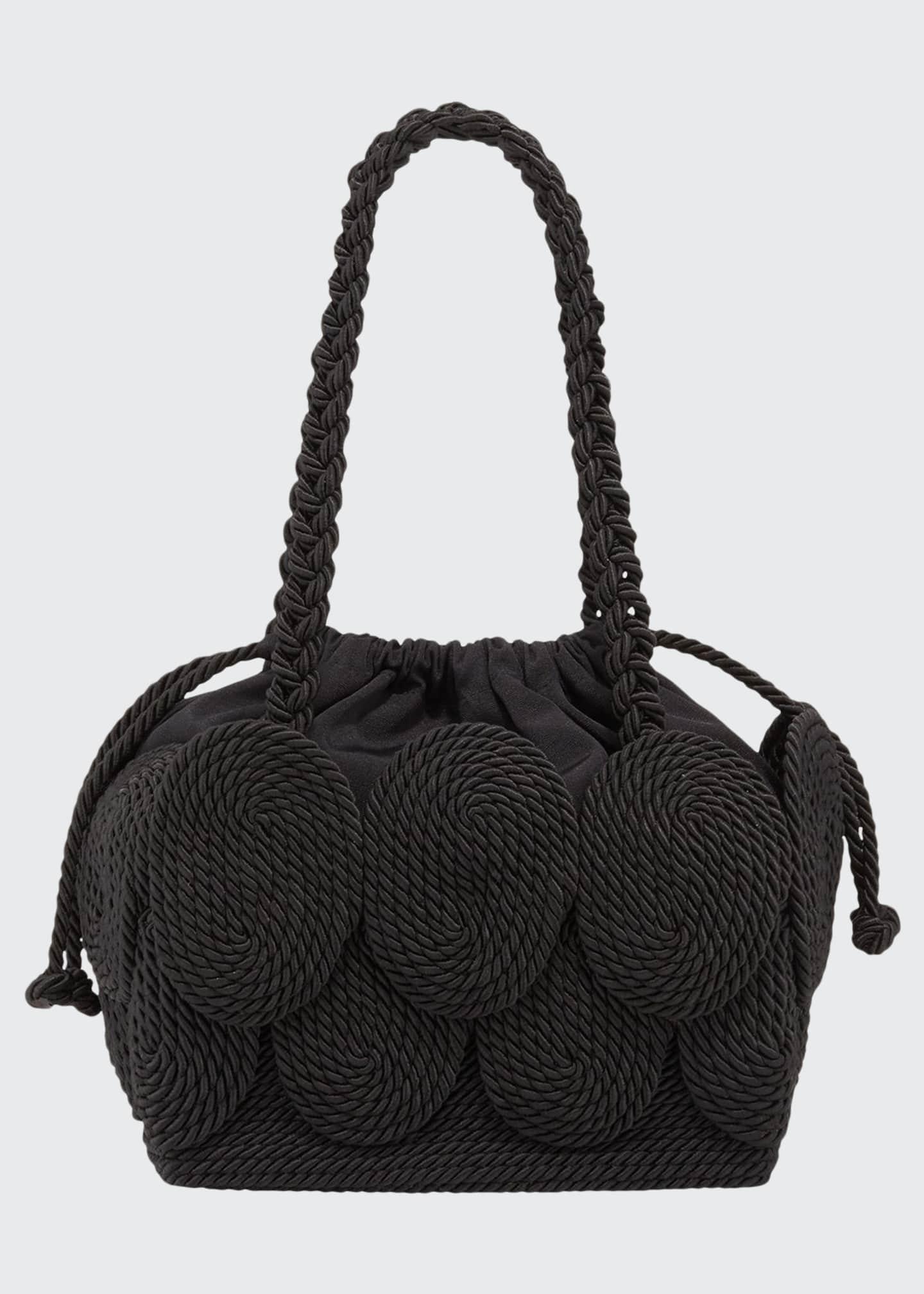Mehry Mu Cha Cha Rope Square Tote Bag