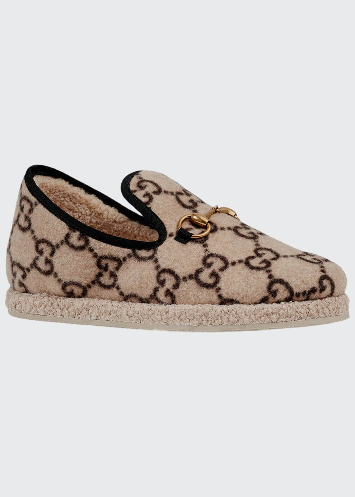 Gucci Fria GG Wool Slippers