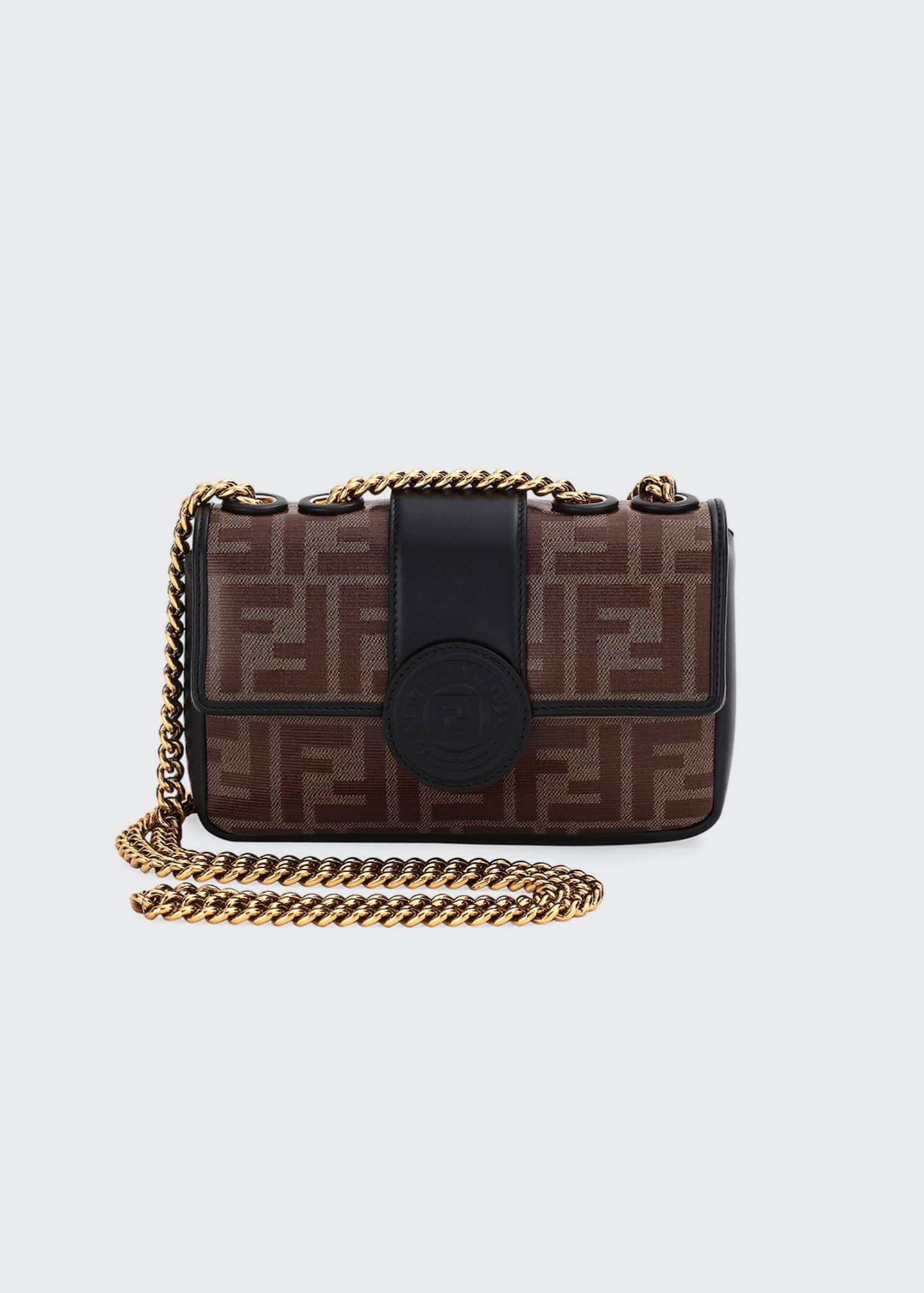 Fendi 1974 Small Calf Grace FF Crossbody Bag