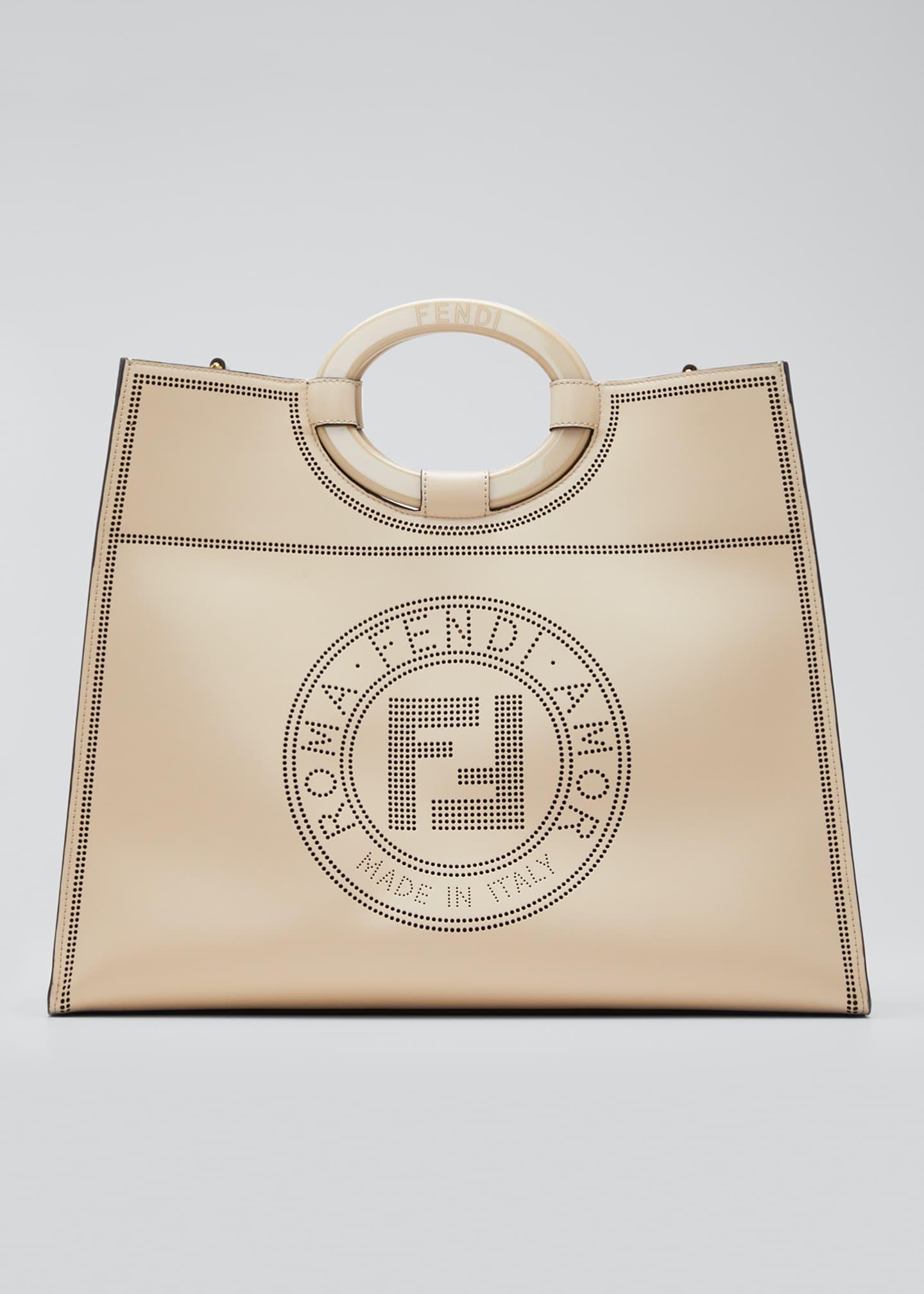 Fendi Runaway Calf Liberty Tote Bag