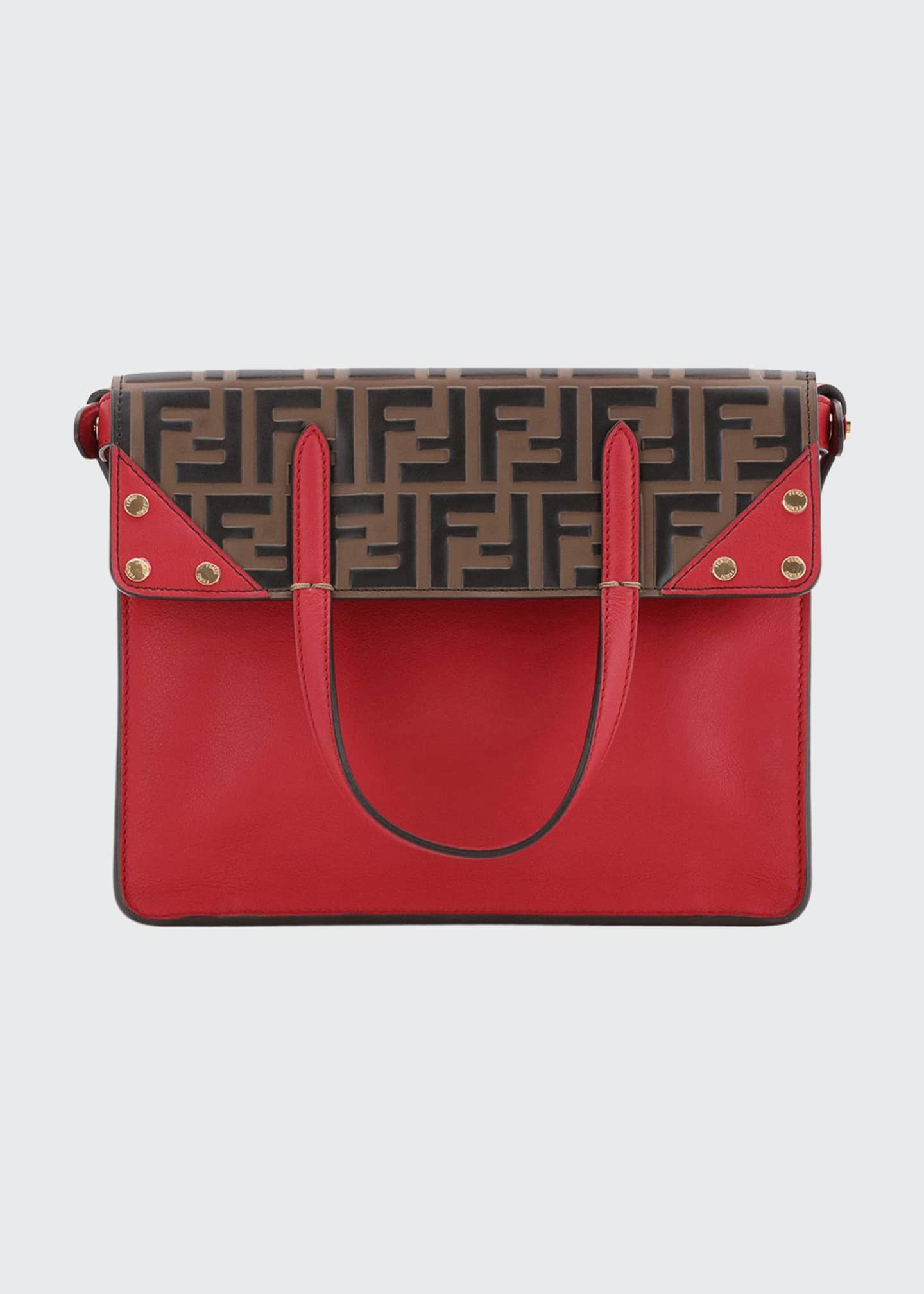 Fendi Grace FF Flip Small Tote Bag