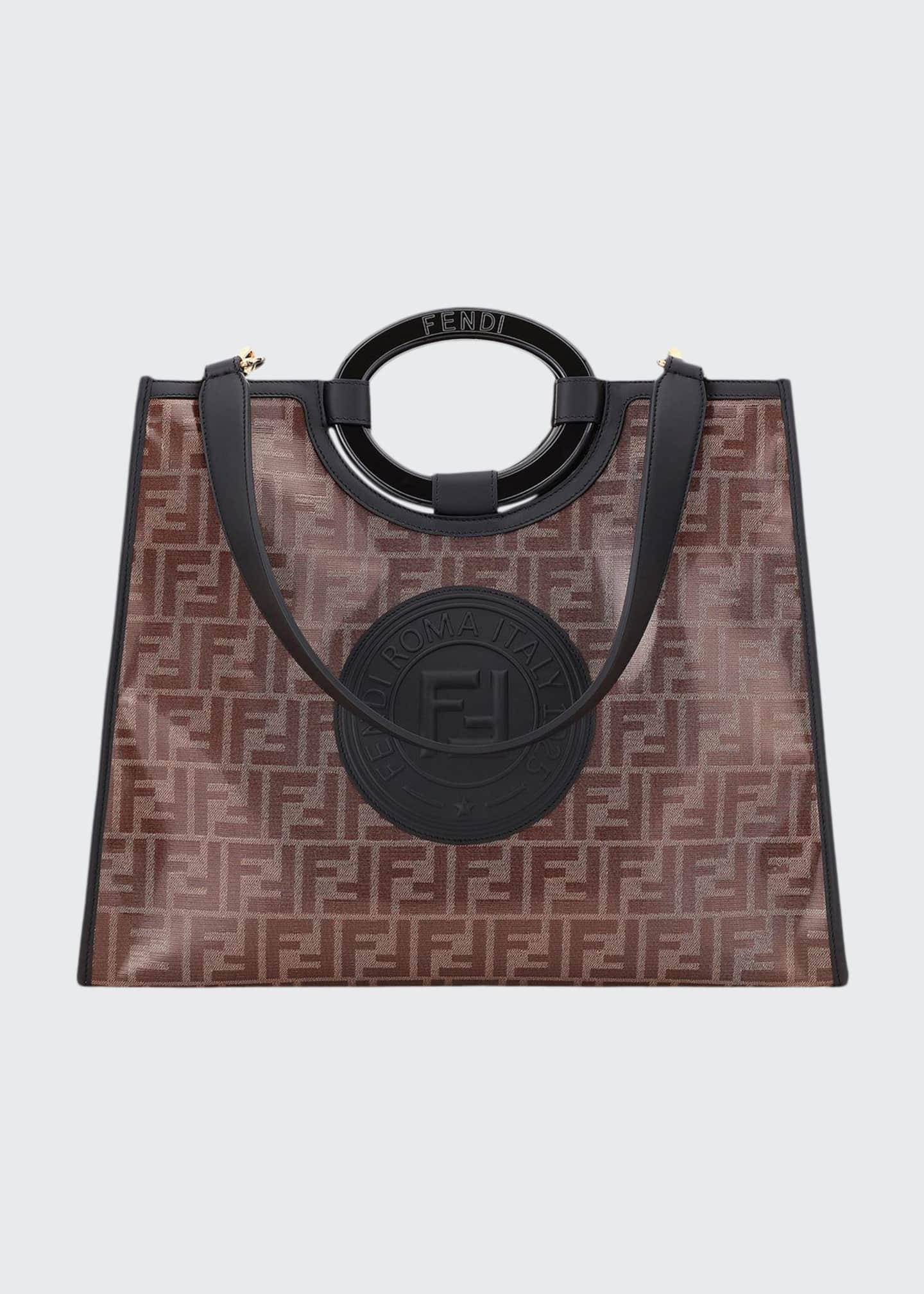 Fendi Runaway 1974 Medium FF Shopper Tote Bag