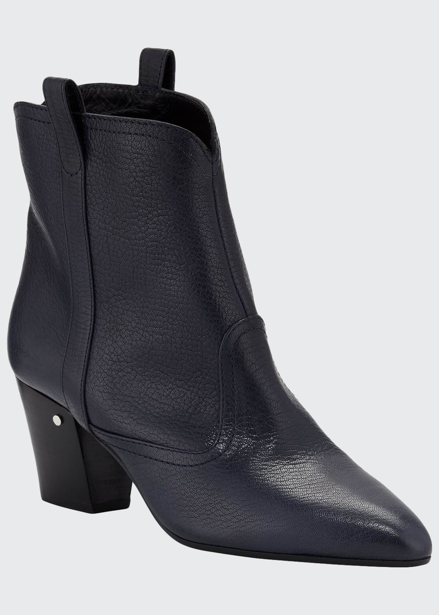 Image 1 of 3: Sheryll Leather Western Booties