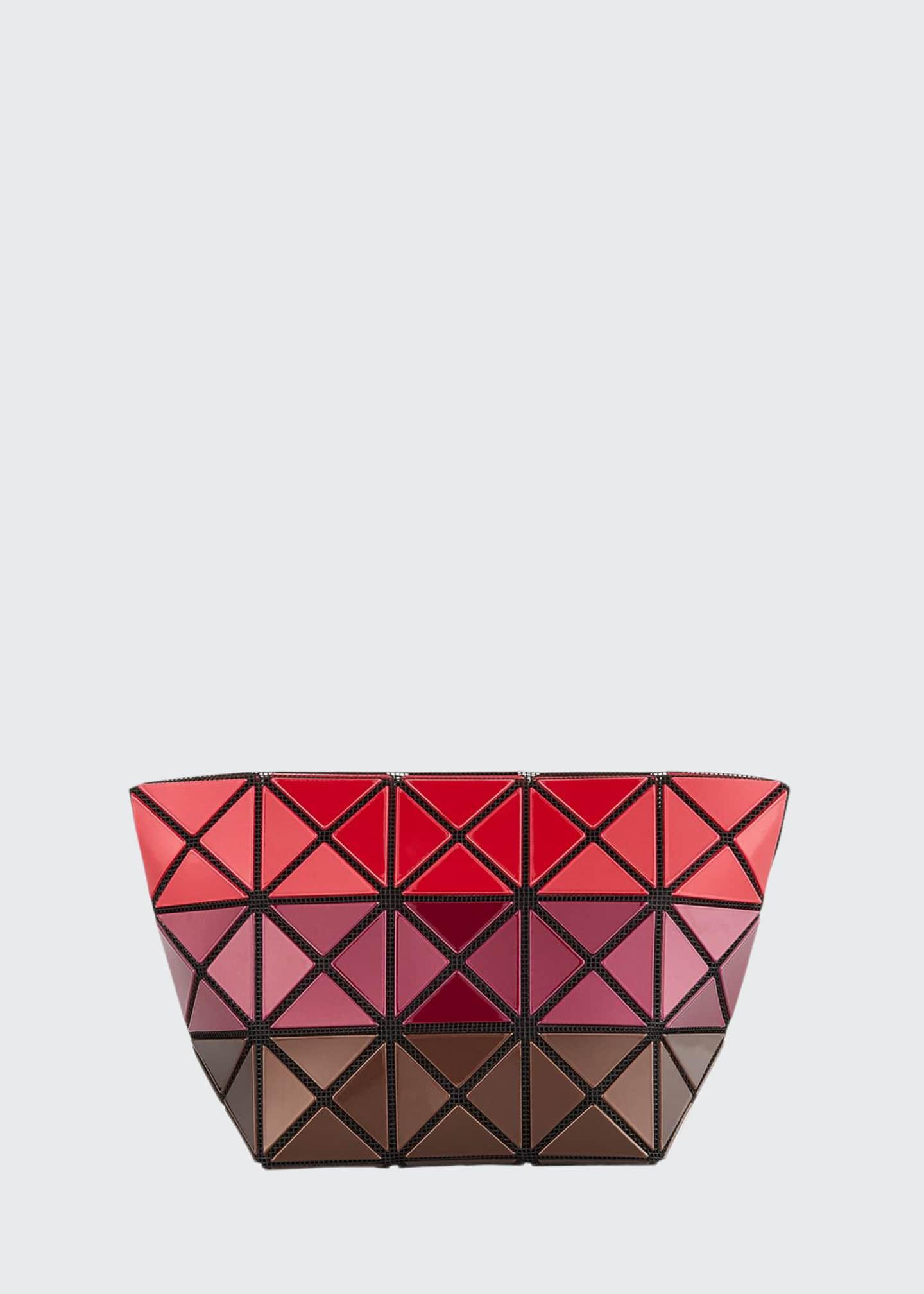 BAO BAO ISSEY MIYAKE Prism Metallic Stripe Clutch