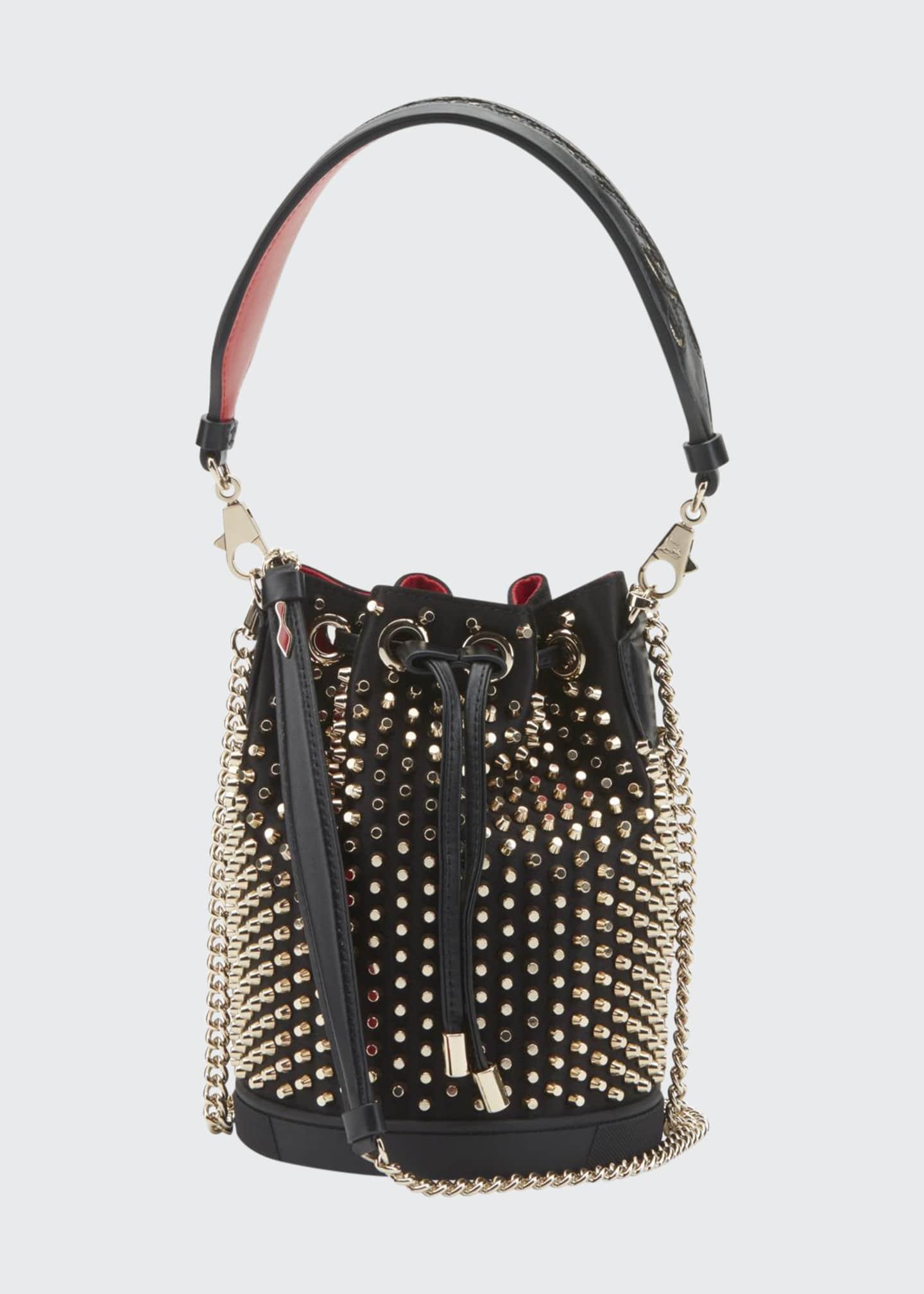 Christian Louboutin Marie Jane Studded Bucket Bag