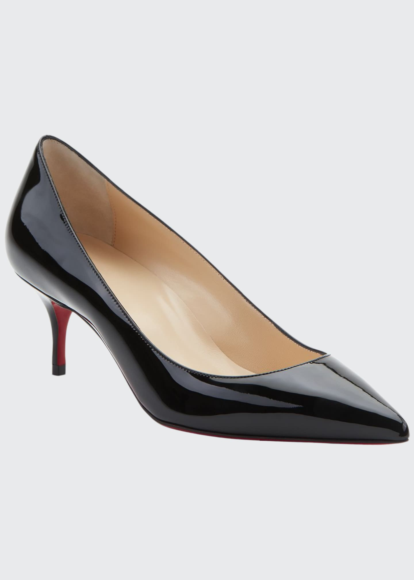 Kate Patent Red Sole Pumps by Christian Louboutin