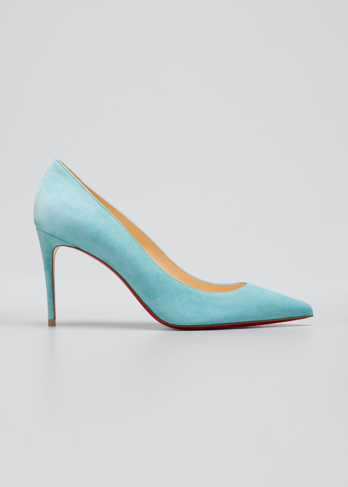 Christian Louboutin Kate Red Sole Suede Pumps