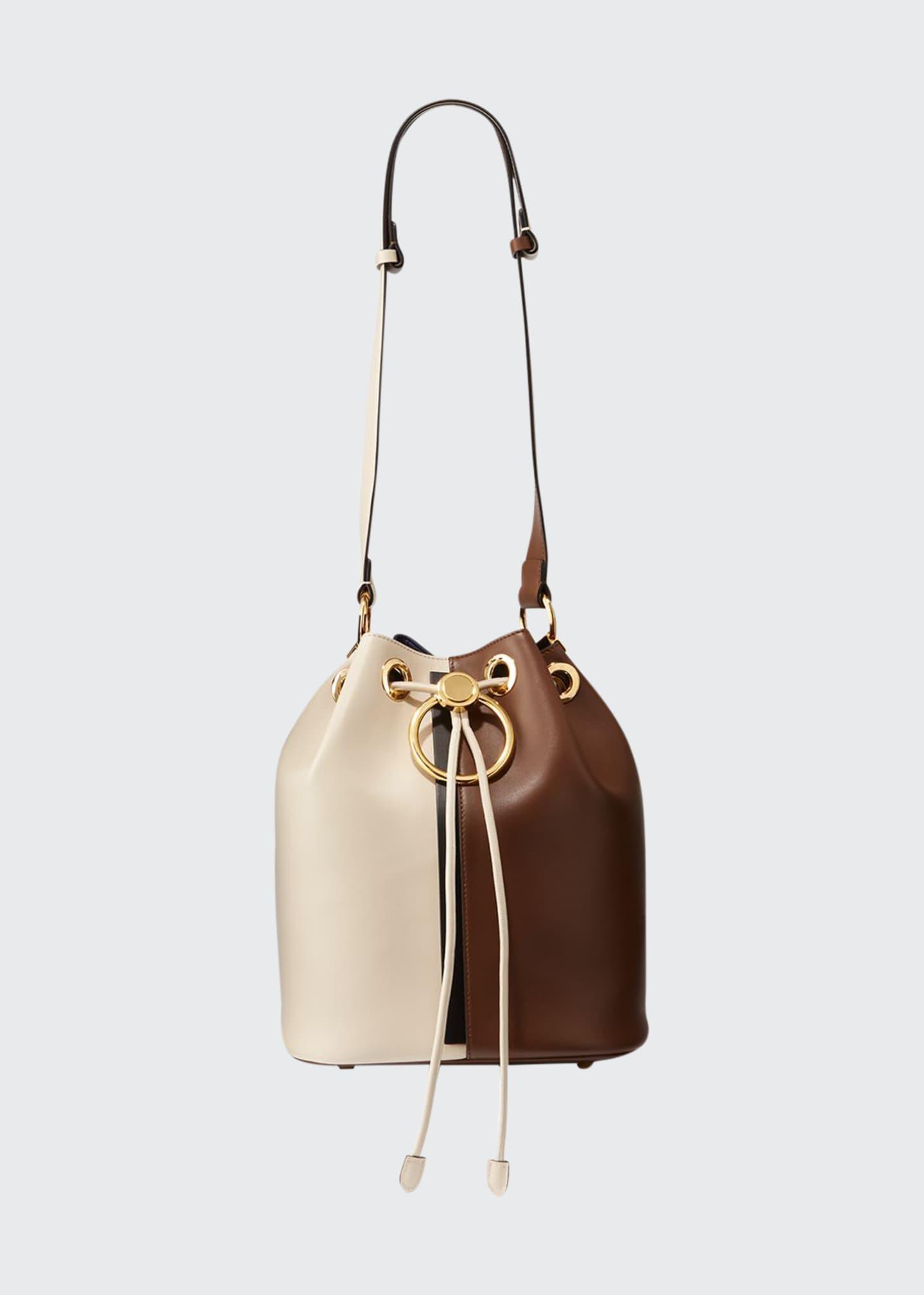 Marni Two-Tone Earring Bucket Bag